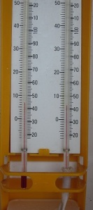 Hygrometers are weather instruments used to measure relative humidity.
