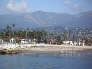 Santa Barbara, seen from the ship