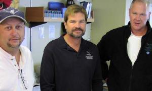 Principal Investigators, left to right: Chris Grech (MBARI), Robert Schwemmer (CINMS), and Bruce Terrell (NMSP).