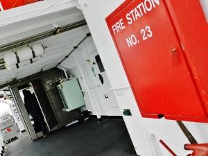 Fire Station No. 23, starboard, deck D
