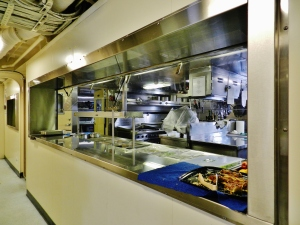 The galley service line