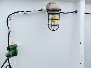 A cool light and electric fixture