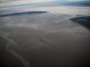 Tidal flats, Cook Inlet, Kodiak, AK