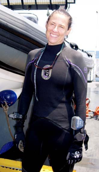 Chief Scientist Paula Whitfield