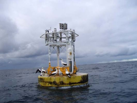 Stratus 7 on station in the South Pacific Ocean helping scientist understand this big blue planet we call home.