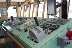 The Bridge - ship operations and navigation.