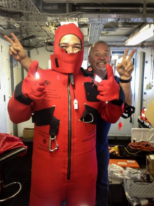 """Safety Immersion Suit or """"Gumby Suit"""""""