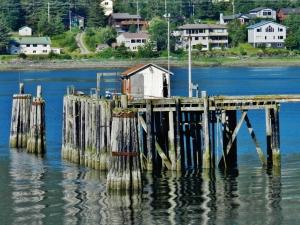 Leaving the dock at Juneau Port