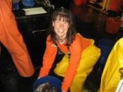 NOAA Teacher at Sea, Elizabeth Martz, works aboard NOAA Ship ALBATROSS IV.