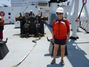 Yaara near anchor
