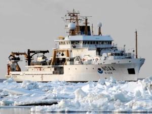 The NOAA Ship Oscar Dyson (photo courtesy of NOAA)