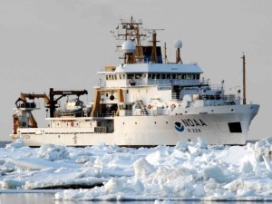 The NOAA Ship Oscar Dyson (photo courtesy of NOAA)