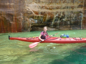 Kayaking Pictured Rocks