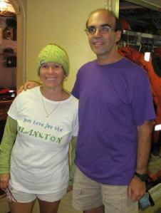 Thanks to Kim Pratt, a fellow teacher, & Jerry Prezioso, a NOAA scientist.