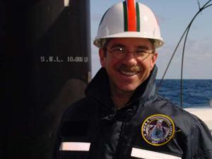 Commanding Officer (CDR) Richard Wingrove