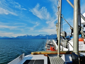 Underway through Gastineau Channel
