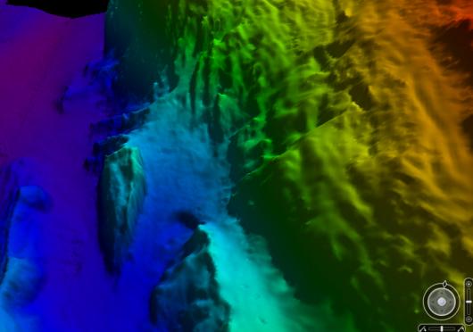 3D sea floor