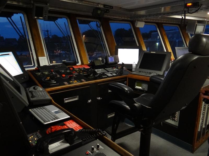 Captain's Chair on the Bridge