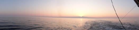 Beautiful Sunset Near Nantucket