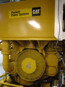 One of the 4 Caterpillar engines that keep Pisces running ship shape.