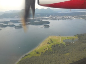 Flying into the Kodiak Airport