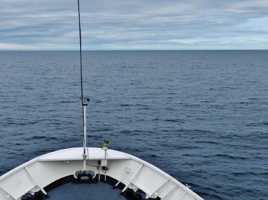 Entering the Gulf of Alaska