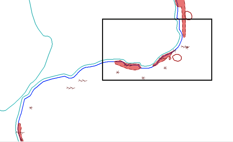 Digitized version of notes and data taken at field site Note: Kelp buffer are the large shaded red areas and the smaller red circle is the actual position of the islet