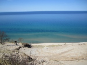 I can't wait to compare the colors of Lake Michigan to the Gulf of Mexico.