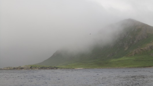 Foggy islands