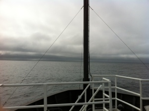 Clouds Seen from Bow of Oscar Dyson on July 31, 2013