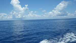 A calm day in the Gulf of Mexico