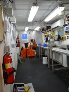 Inside of the Van, AKA Wet Lab