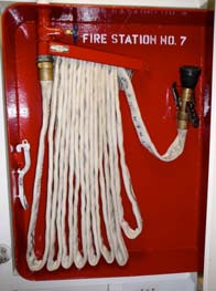 The fire hose