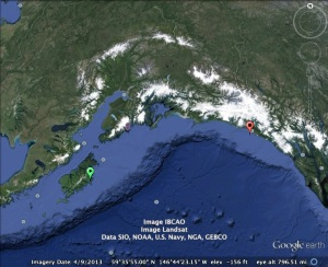 Gulf of Alaska Map