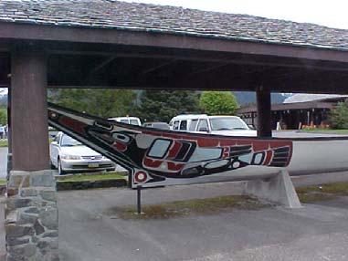 Ceremonial Tlingit Canoe