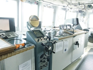 All of the navigation equipment driving the Oregon II.