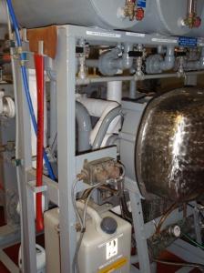 Water Maker distills salt water to make fresh