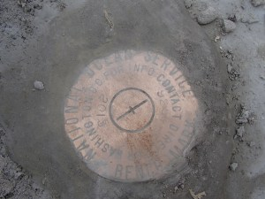 Cemented benchmark