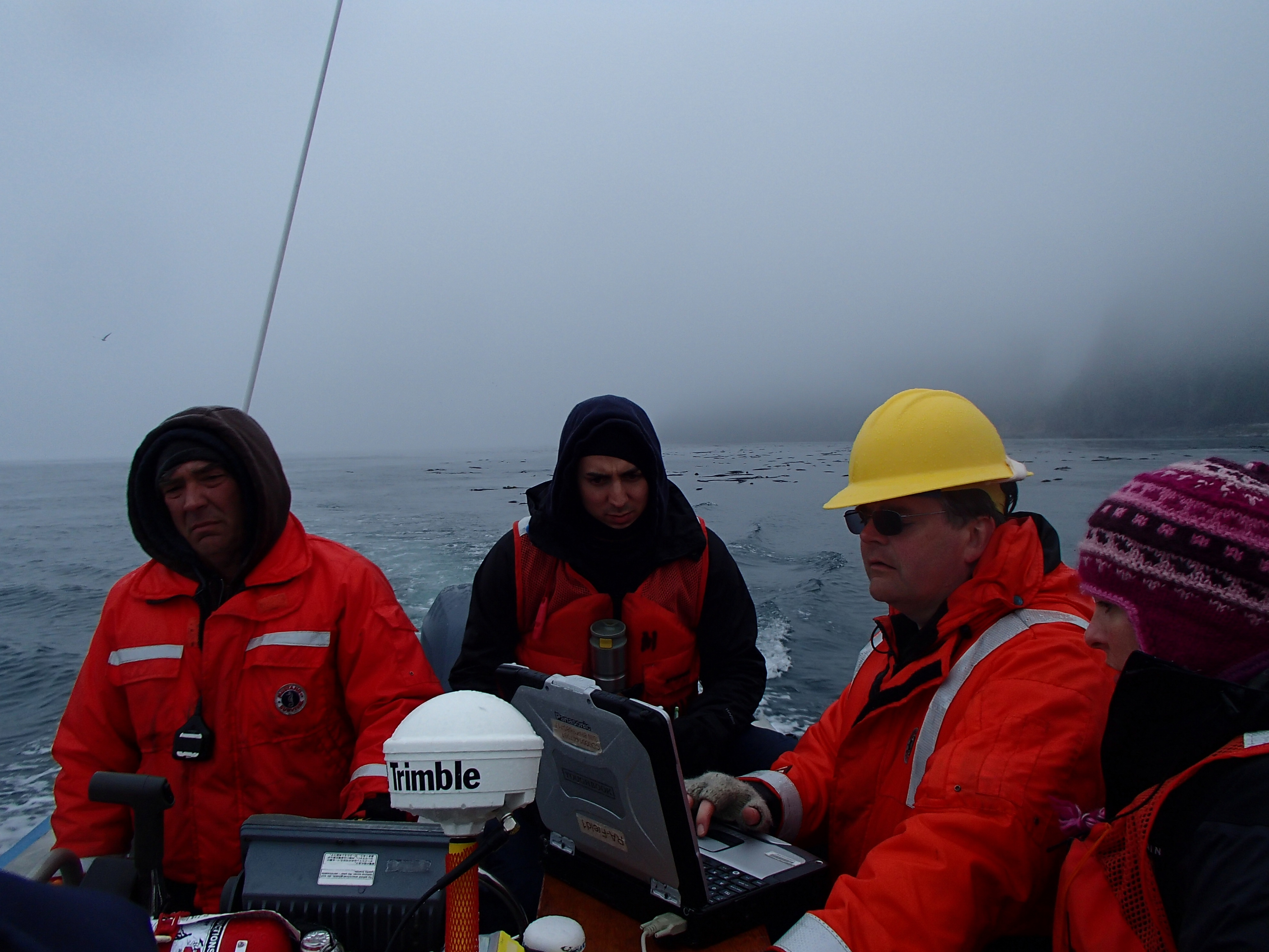 Shoreline verification crew