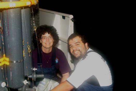 Dr. Molly and Carlos