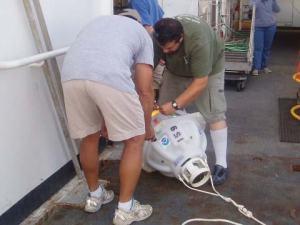 Preparing the sounder