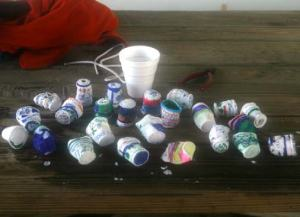 …and the cups after pressure!