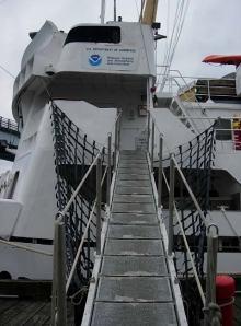 NOAA Teacher at Sea, Jessica Schwarz's journey onboard the RAINIER begins here!