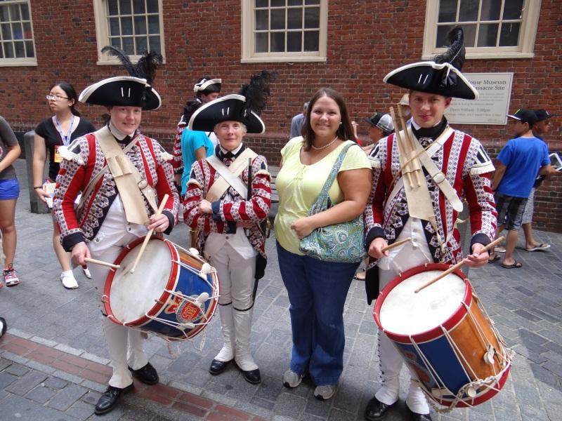 Virginia With the Boston Fife