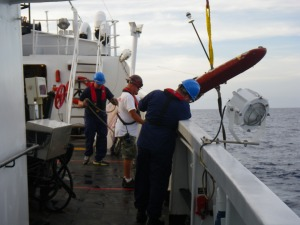 Weather buoy rescue