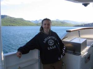 Assistant Hydrography Survey Technician Marta Krynytzky