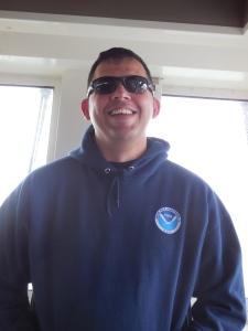 Chris, the Executive Officer of the Oscar Dyson