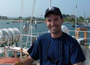 Jeff Grevert, ready to set sail