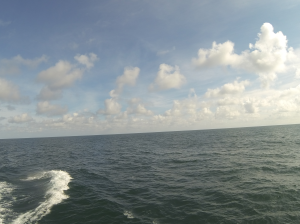 Heading to Kodiak across the Gulf of Alaska