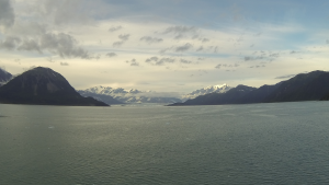 And there it is: Hubbard Glacier